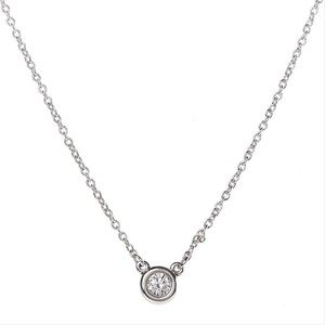 Tiffany & Co. Diamond Peretti Silver Necklace